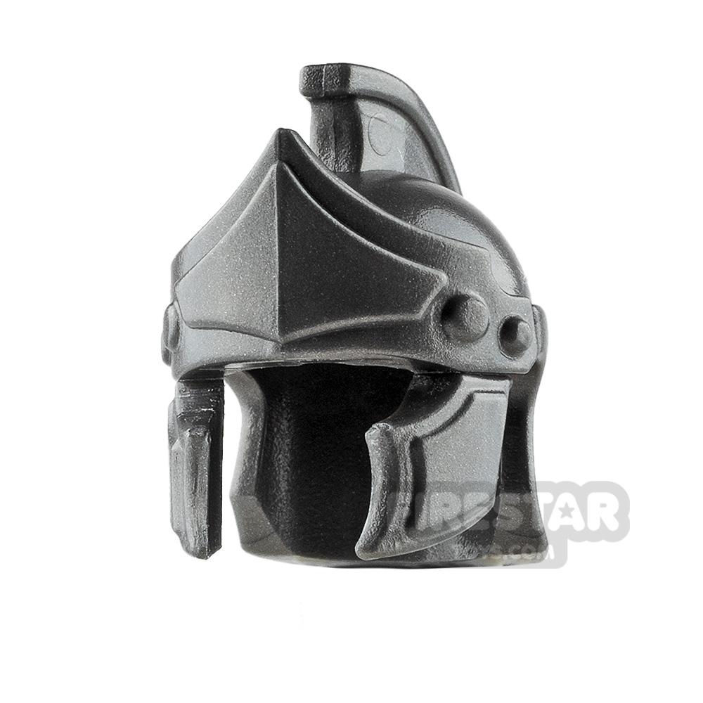BrickWarriors - Greco Roman Helmet - Steel