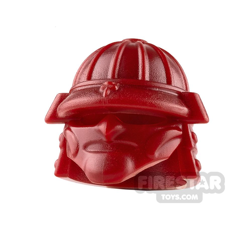 BrickWarriors - Samurai Helmet - Dark Red