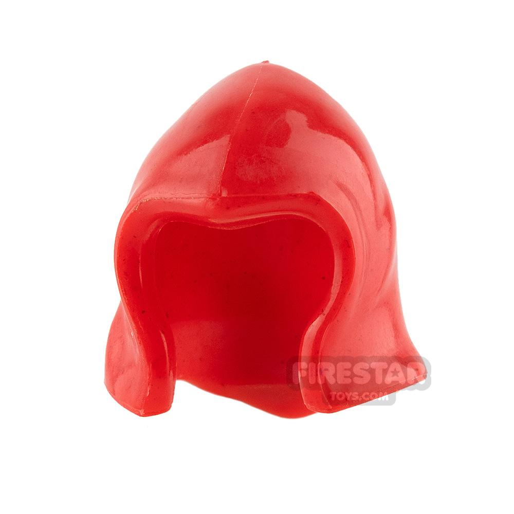 Arealight - Hood - Red Flexible Plastic