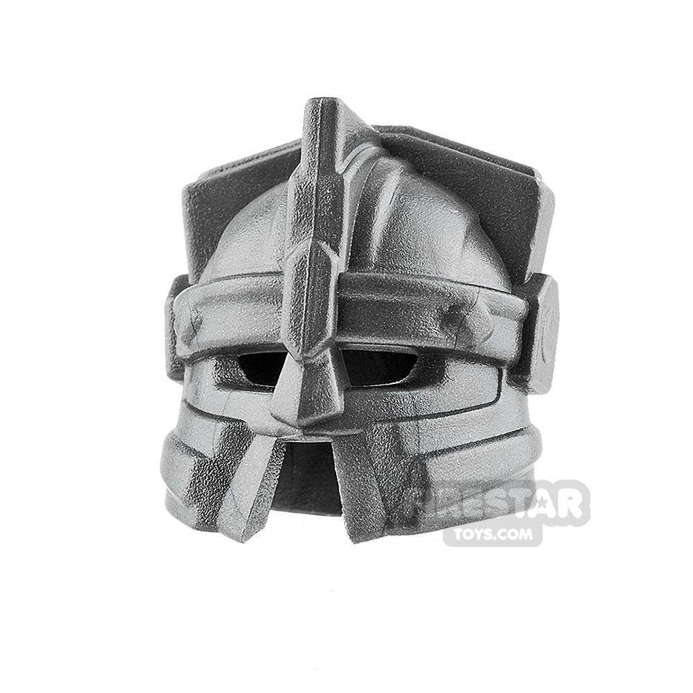 BrickWarriors - Dwarf Helmet - Steel