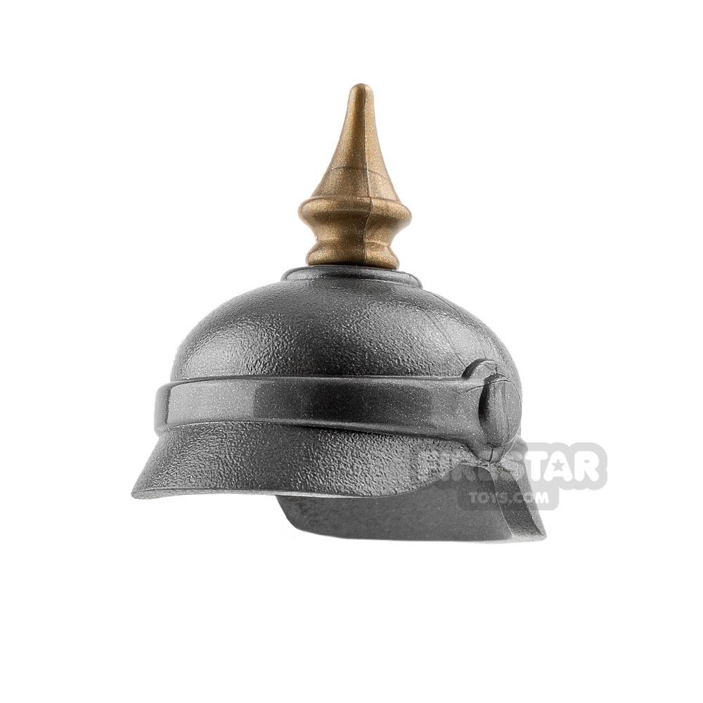 Brickarms - Pickelhaube Helmet - Gunmetal
