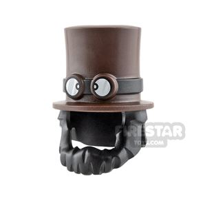 LEGO Top Hat with Beard and Goggles