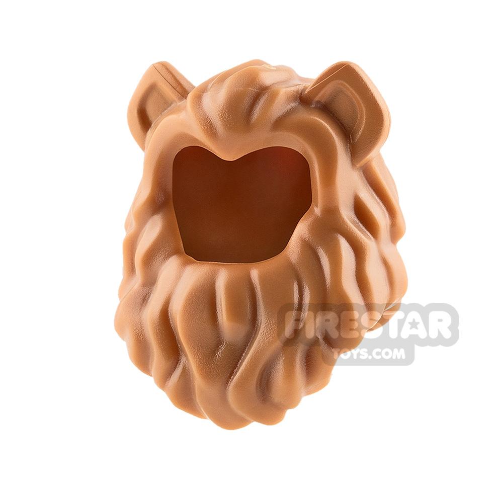 LEGO - Lion Mane - Medium Dark Flesh
