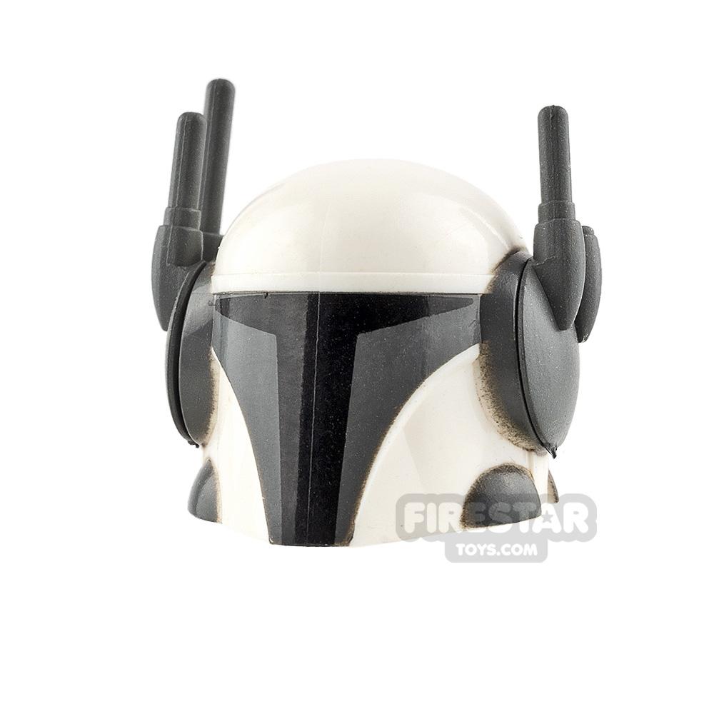 Clone Army Customs Tech Mando White