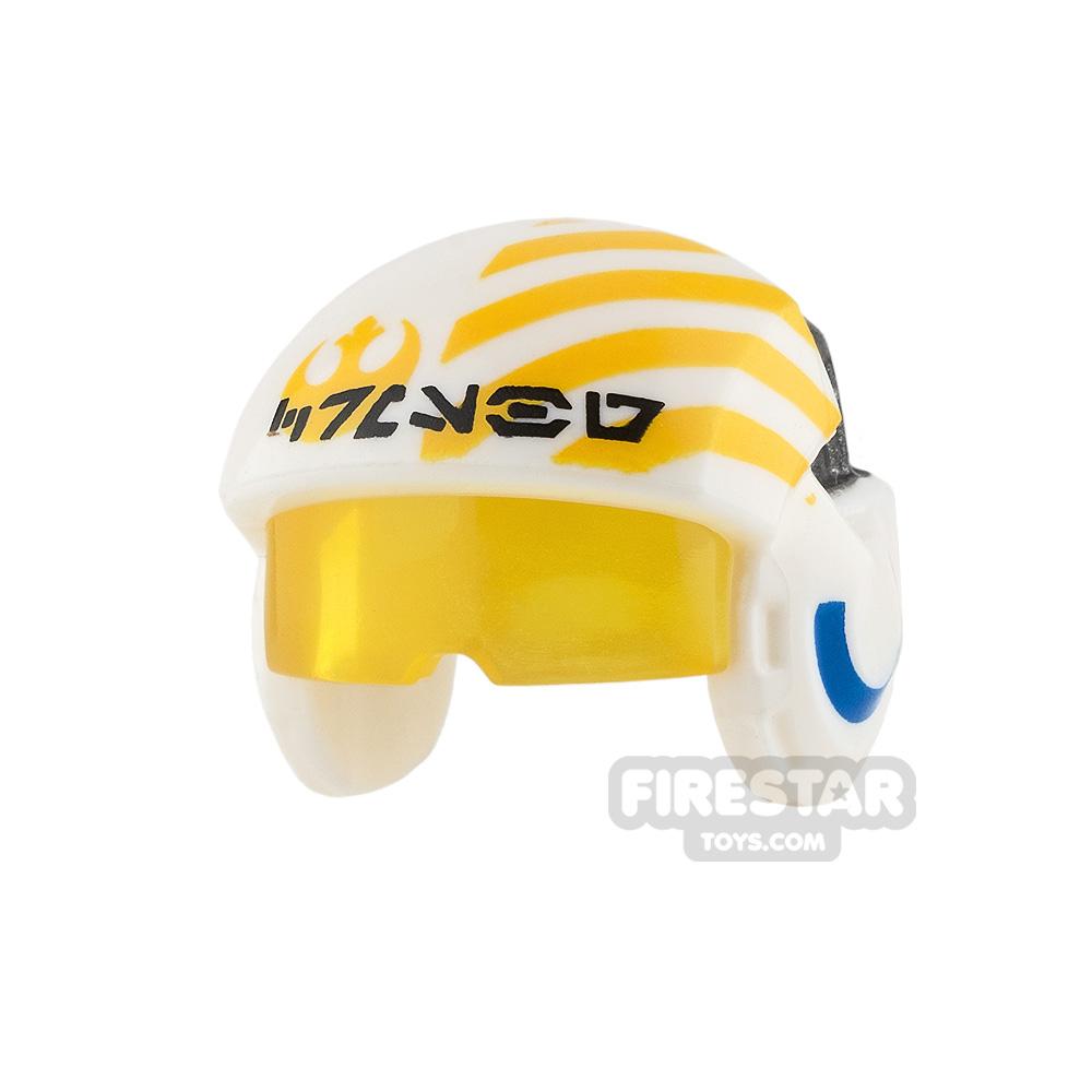 LEGO Rebel Pilot Helmet with Visor