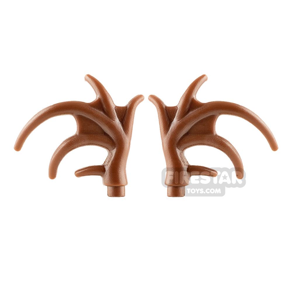 BrickWarriors Moose Antlers Pair
