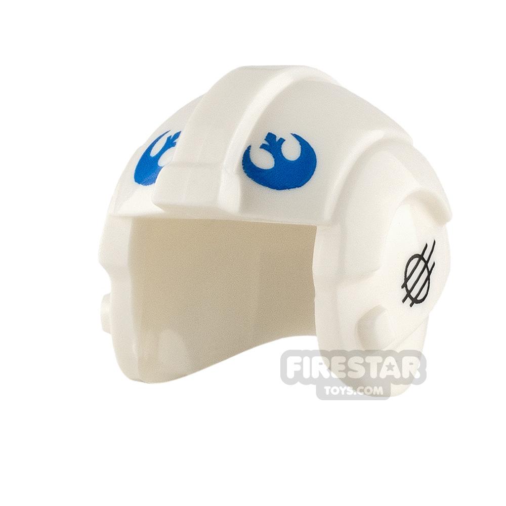 LEGO Rebel Pilot Helmet Dak Ralter