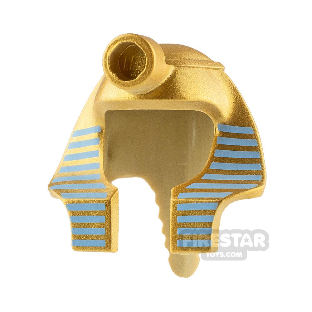 LEGO Mummy Headdress Gold and Medium Blue