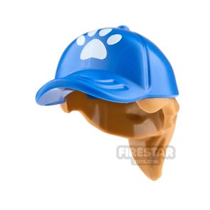 LEGO Cap with Hair and Paw