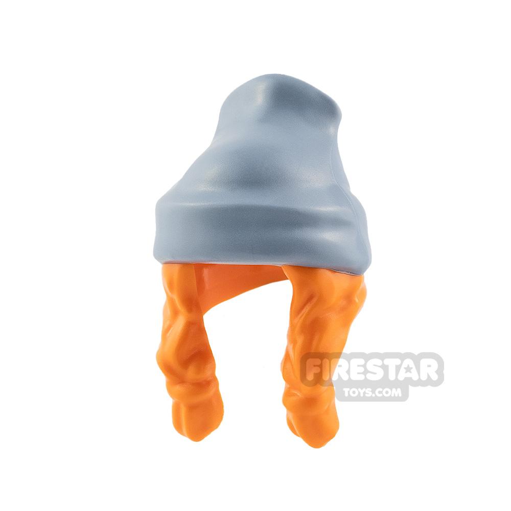 LEGO Beanie Hat with Hair Braids