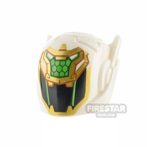 LEGO Gold Dragon Helmet with Scales