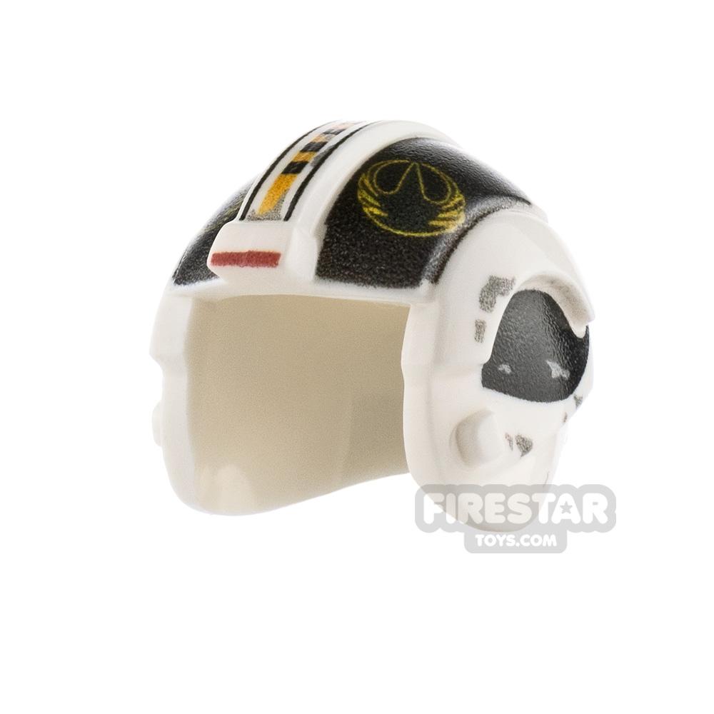 Custom Design Headgear SW Rebel Pilot Helmet Farns Monsbee
