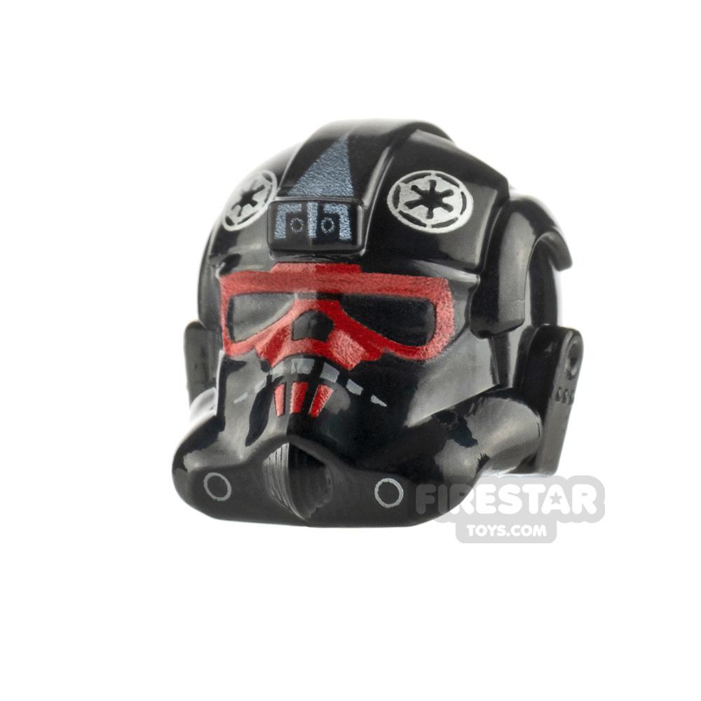 Custom Design Headgear SW Tie Fighter Pilot Helmet Titan Squadron