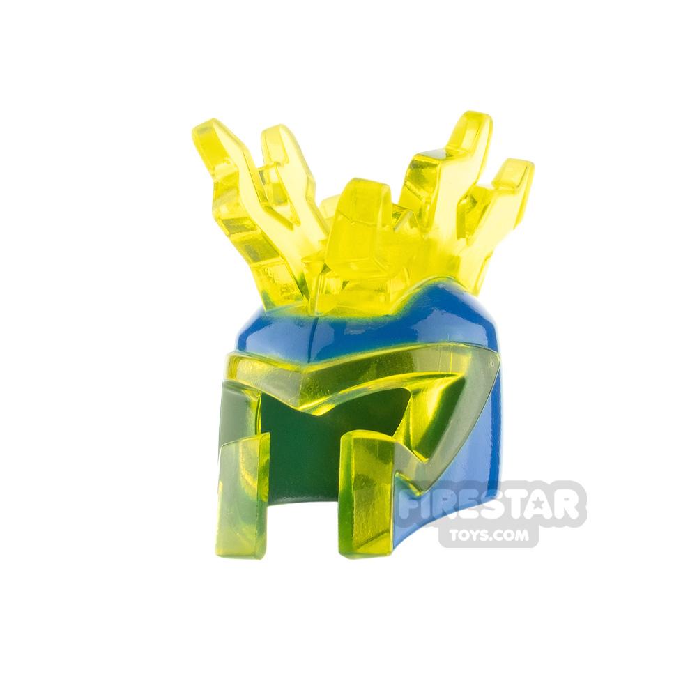 LEGO Helmet with Lightning Bolts