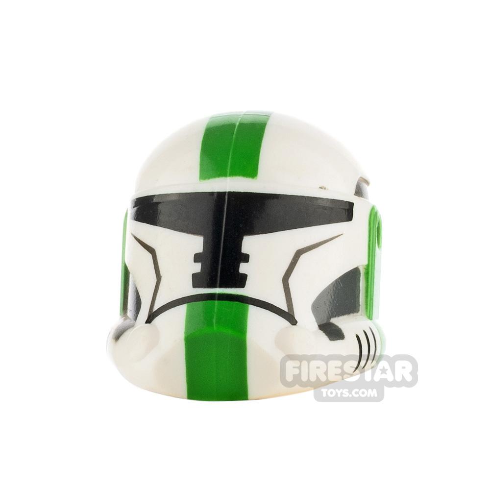 Clone Army Customs OR Helmet Green Leader
