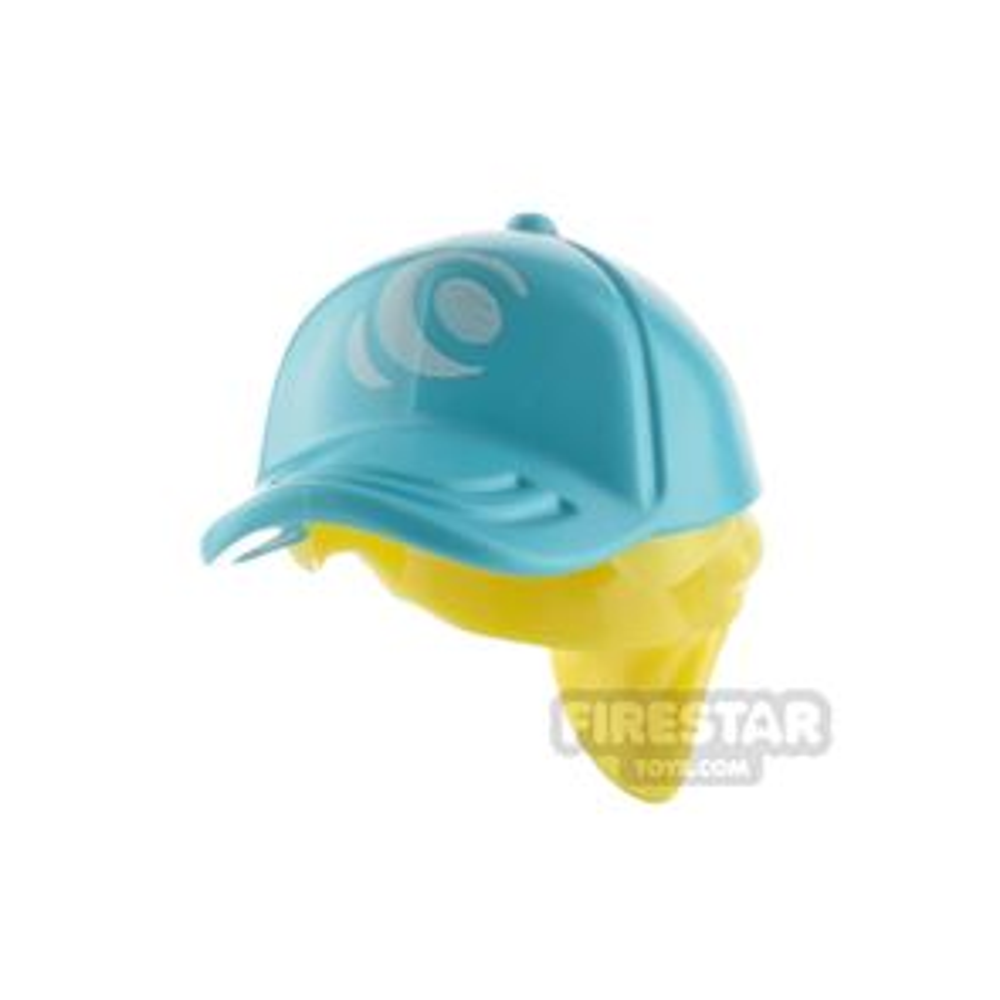 LEGO Medium Azure Cap with Ponytail