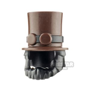 LEGO Top Hat with Beard and Goggles Unprinted