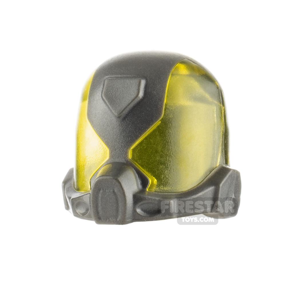 LEGO Yellow Jacket Helmet Unprinted