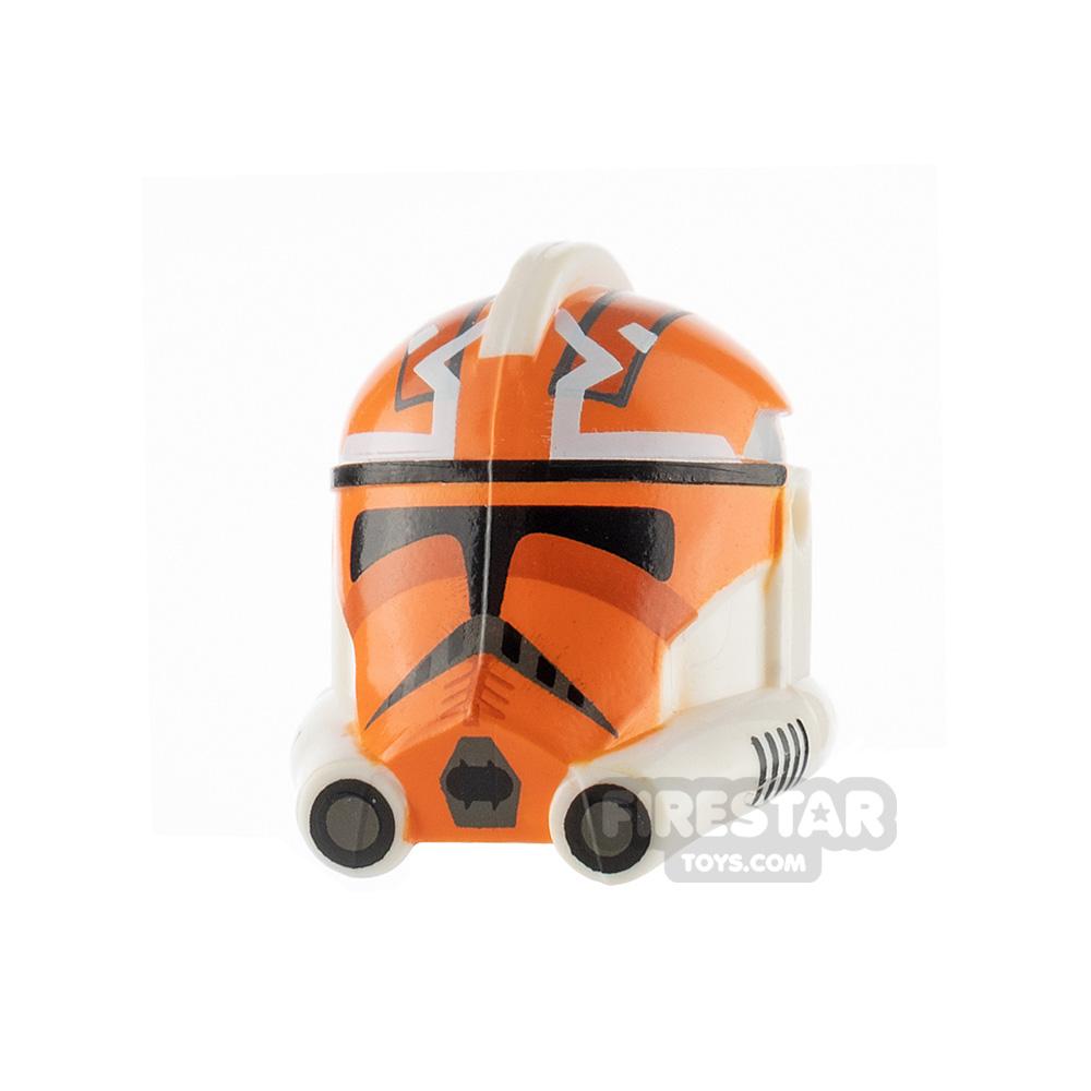 Clone Army Customs P2 Helmet 332nd Vaughn Orange