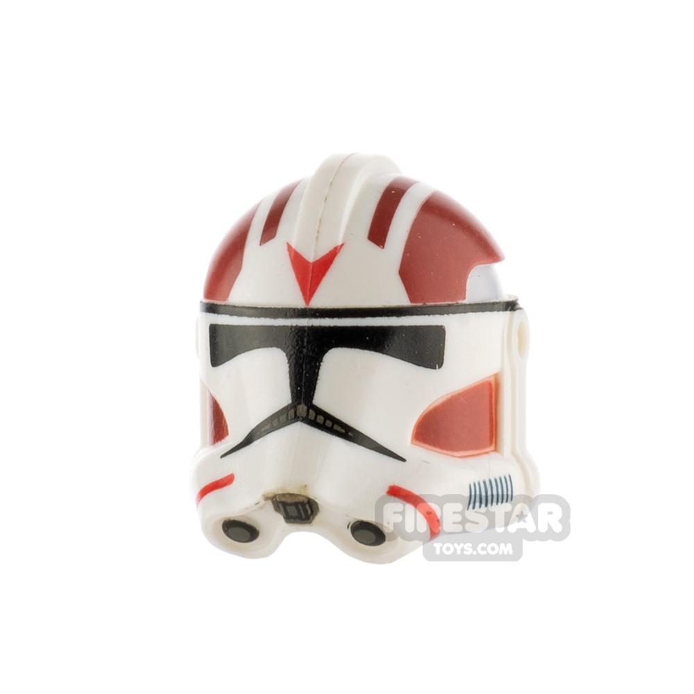 Clone Army Customs RP2 Helmet Dark Red Rocket