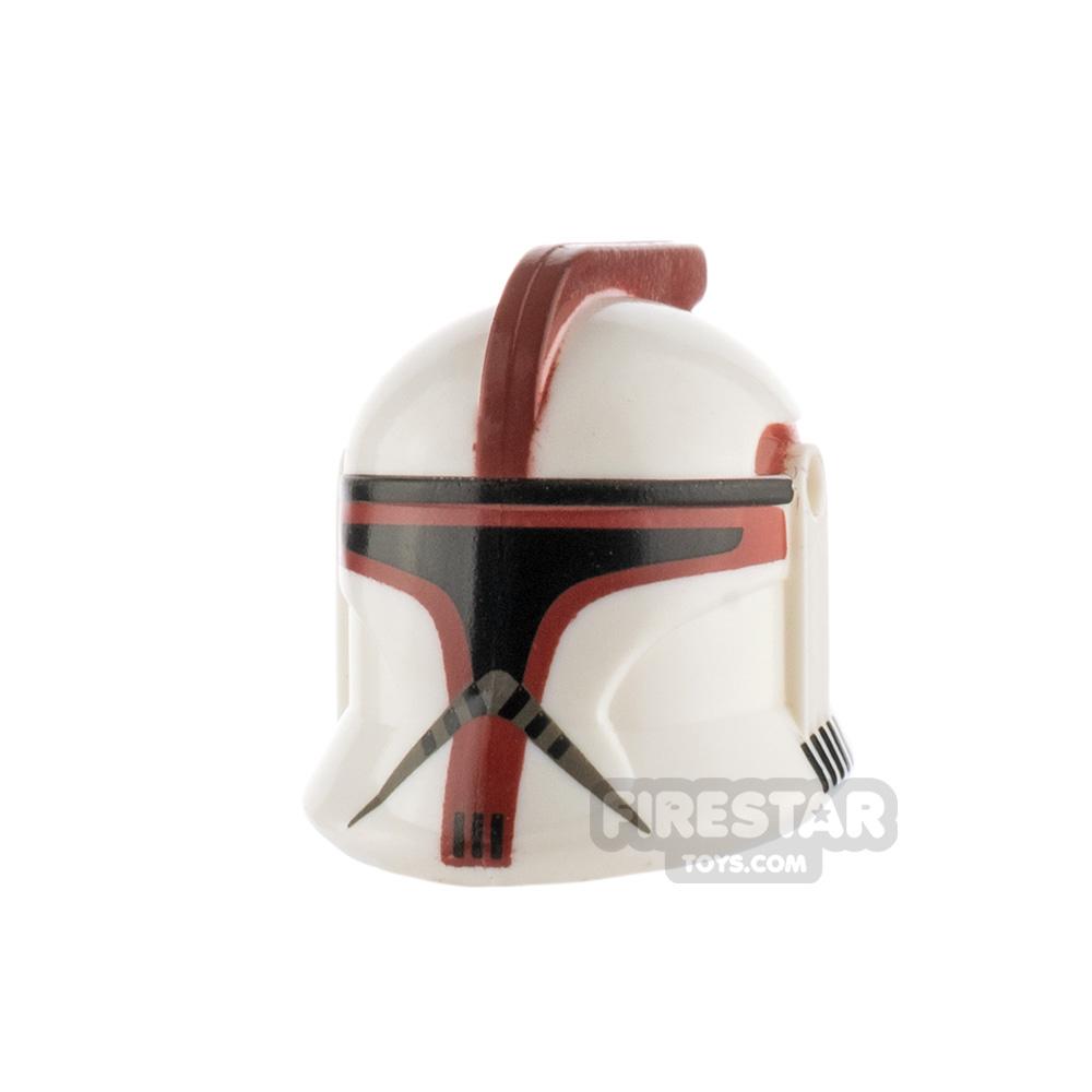 Clone Army Customs P1 Helmet Dark Red
