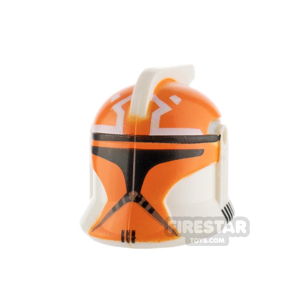 Clone Army Customs P1 Helmet 332nd Trooper Orange