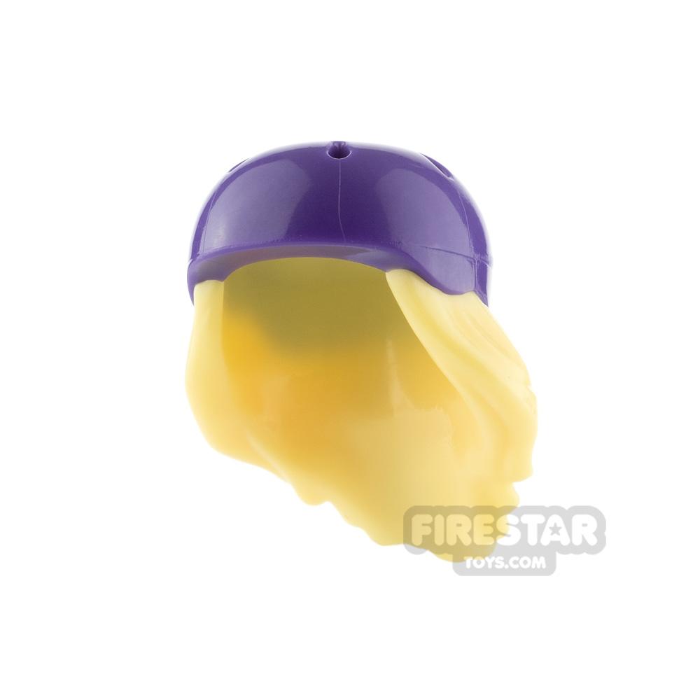 LEGO Skater Helmet with Hair