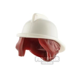 LEGO Firefighter Hat with Hair