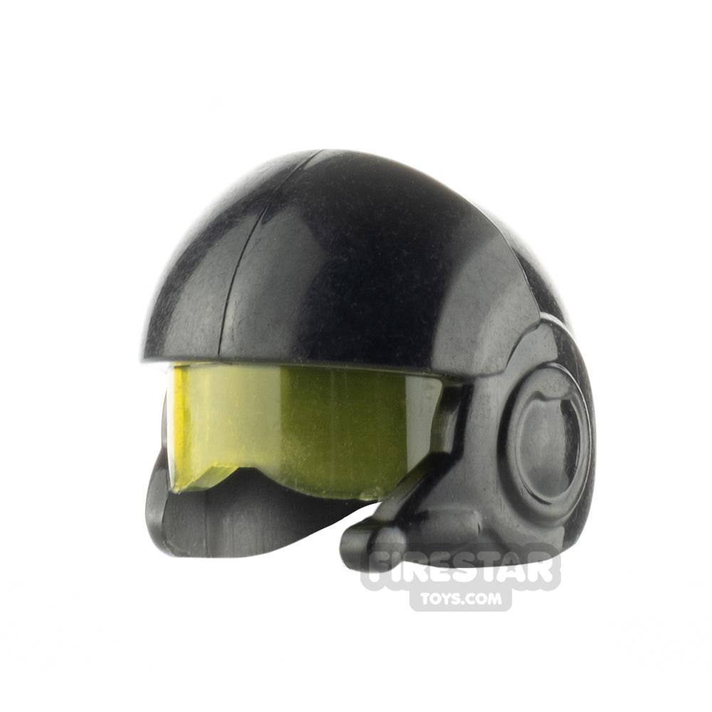 LEGO Rebel Pilot Helmet with Visor Unprinted