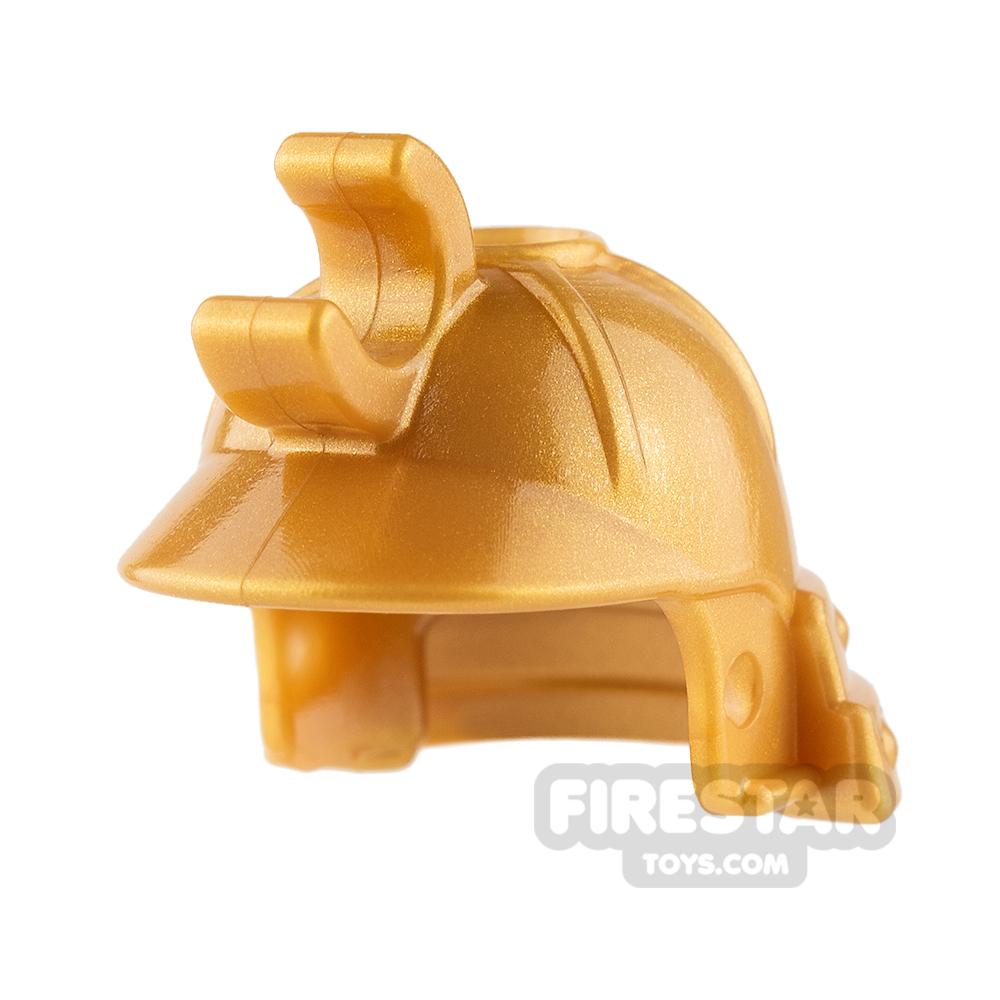 LEGO - Ninjago Samurai Helmet - Pearl Gold