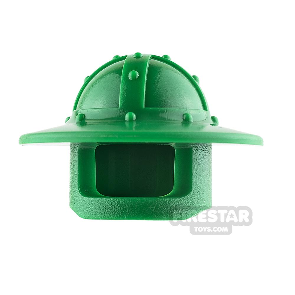 LEGO - Broad Brim Castle Helmet - Green