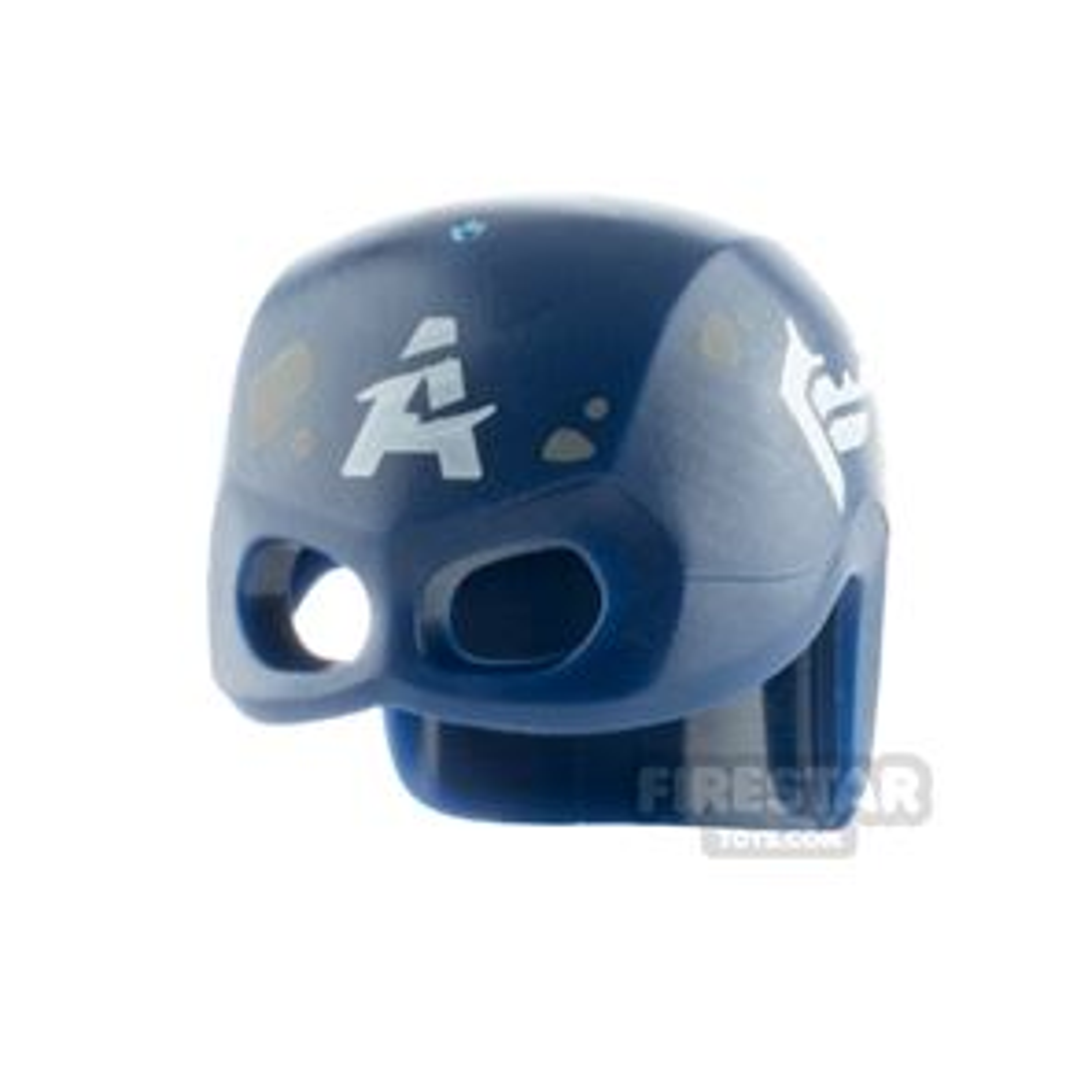 LEGO Captain America Helmet Worn