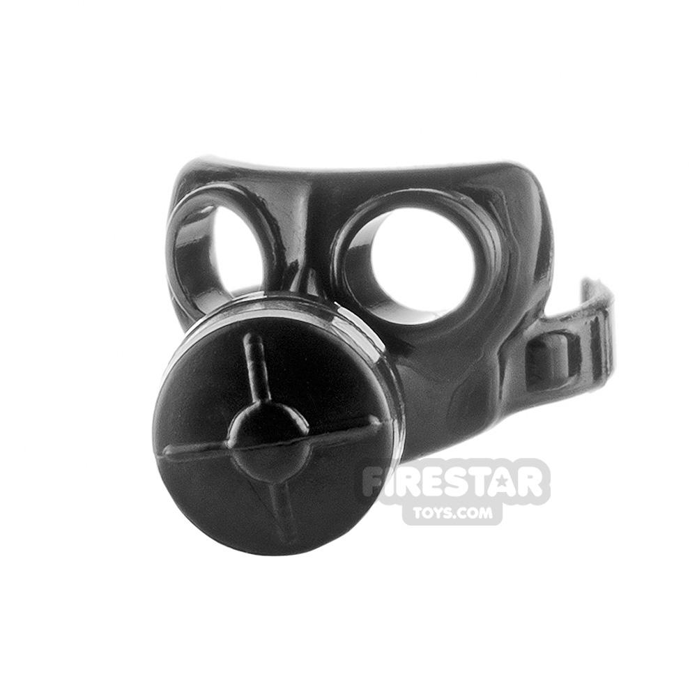 SI-DAN - Gas Mask Type 1 - Black