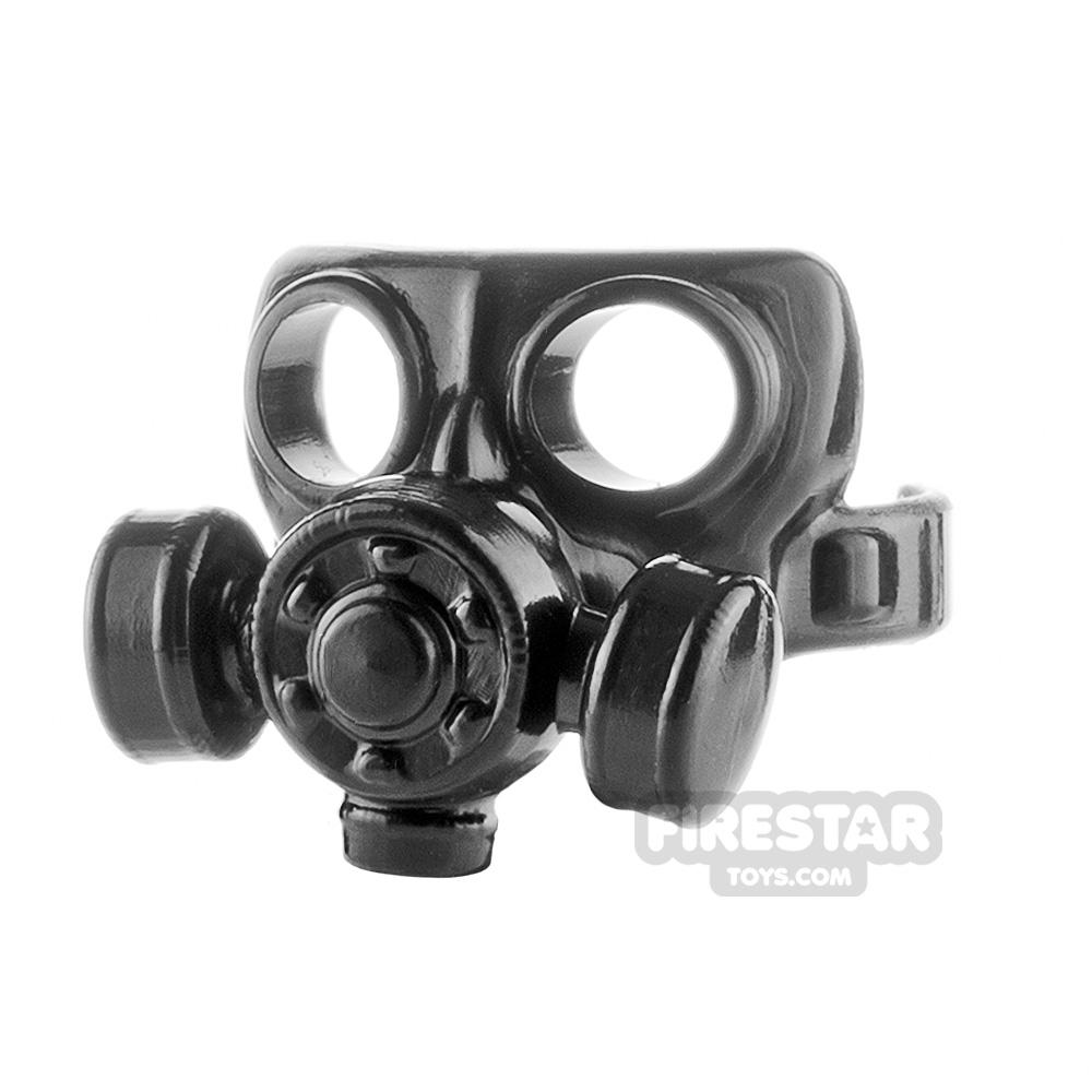 SI-DAN - Gas Mask Type 2 - Black
