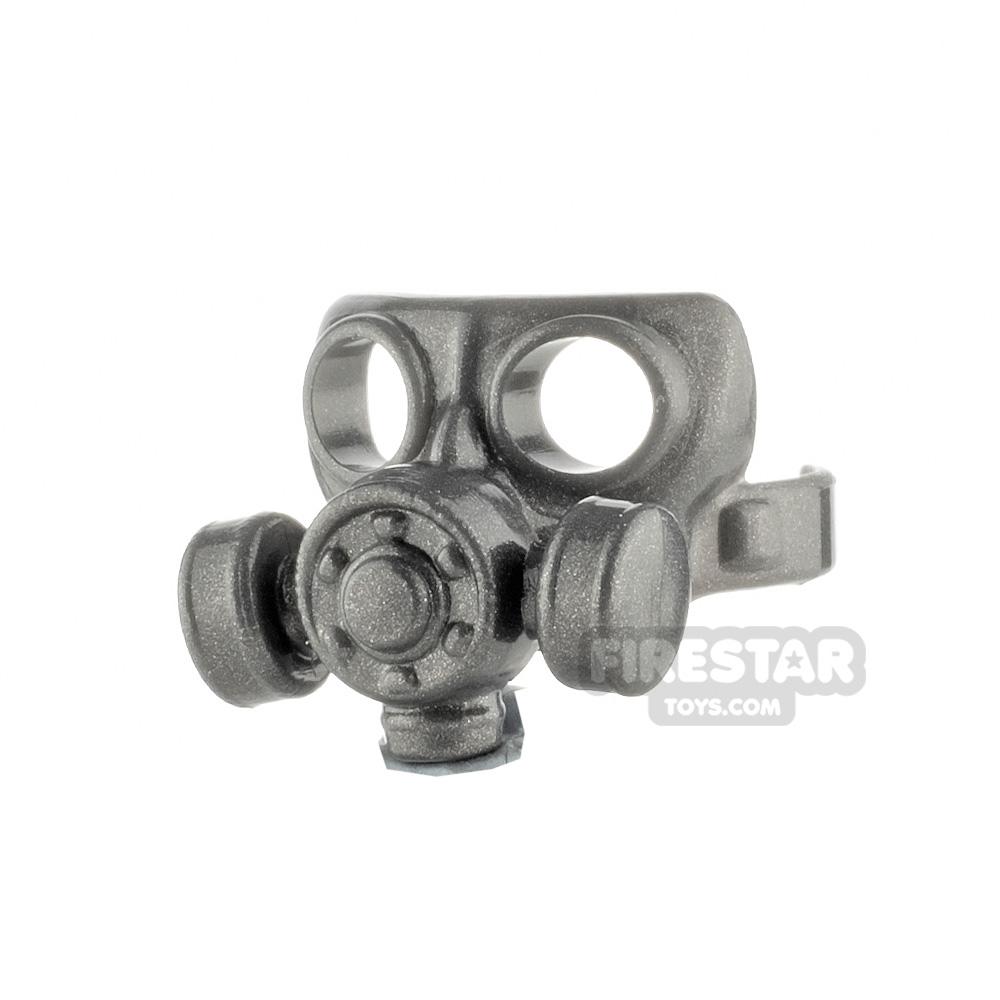 SI-DAN - Gas Mask Type 2 - Iron Black