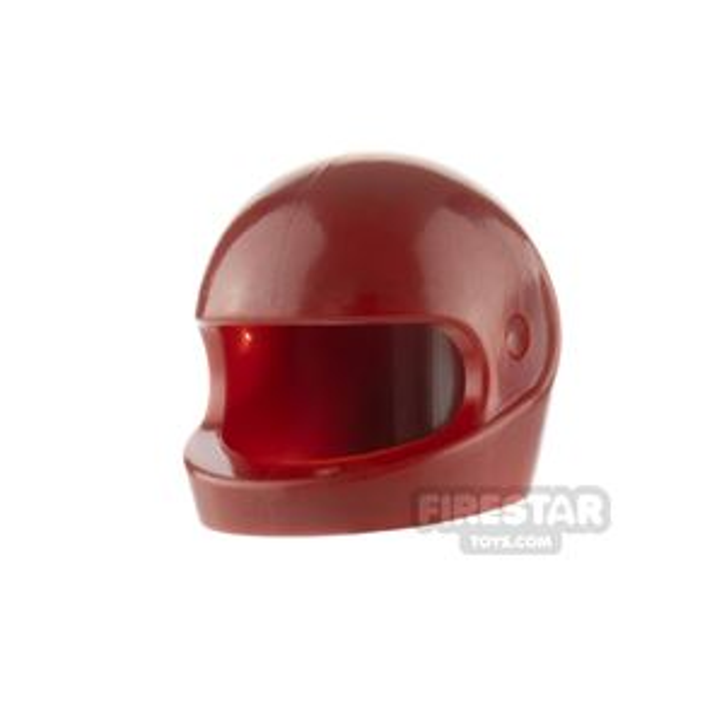 LEGO - Biker Helmet - Dark Red