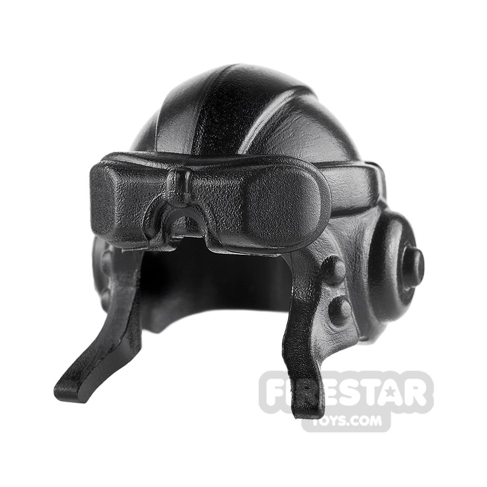 BrickWarriors - Aviator Helmet - Black