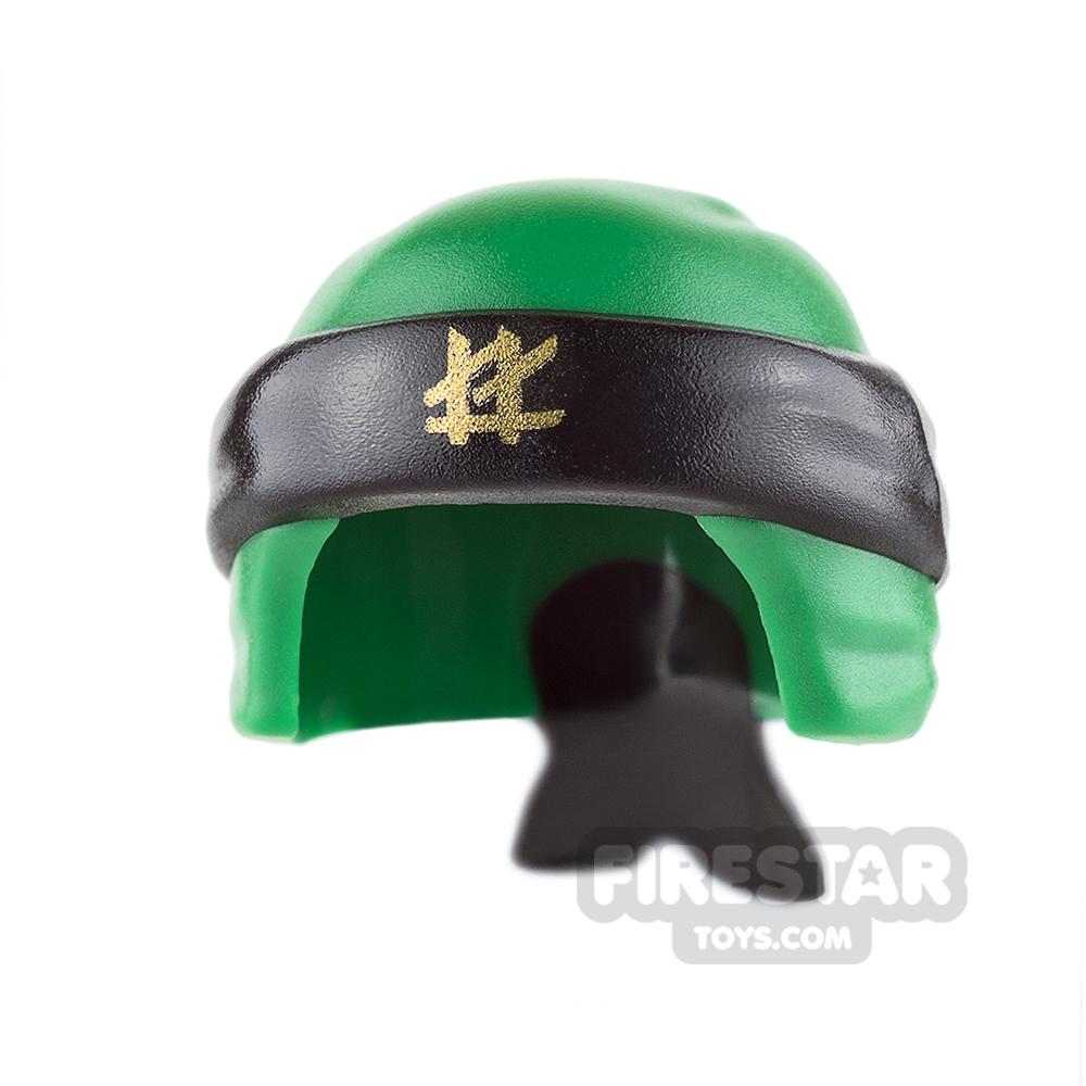 LEGO - Ninja Bandana - Green with Knot - Black
