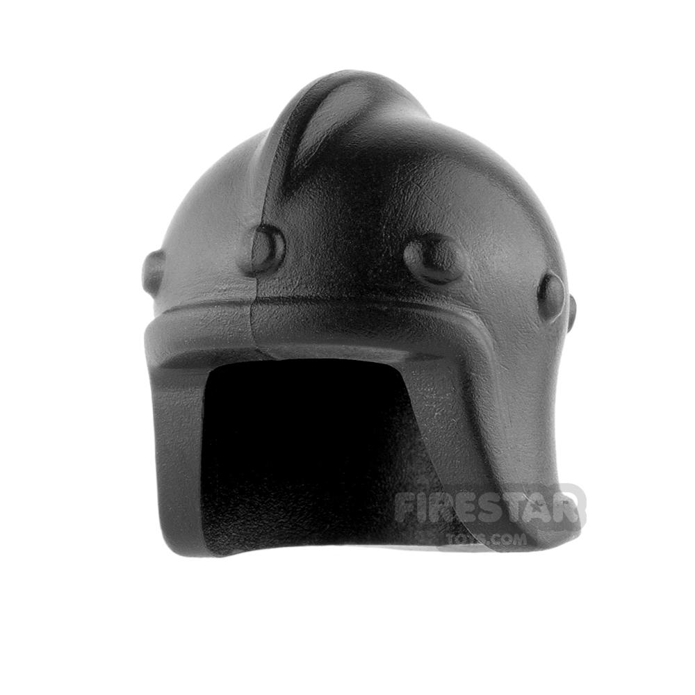BrickWarriors - Archer Helm - Black