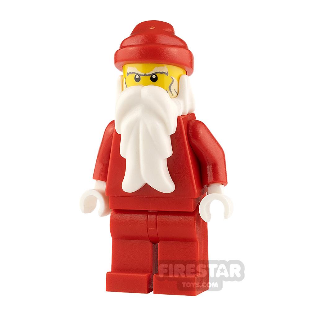 LEGO City Minifigure Santa Bushy Eyebrows