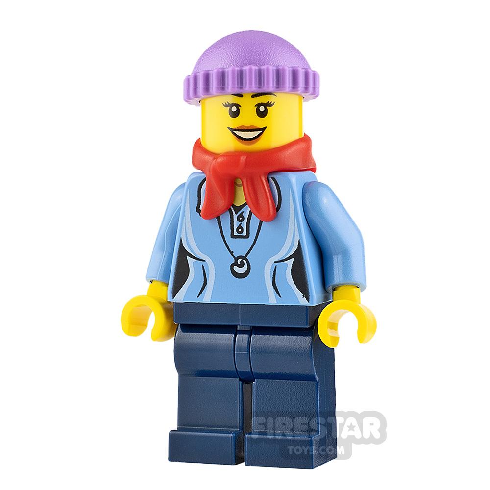 LEGO Holiday Minifigure Knit Cap and Bandana