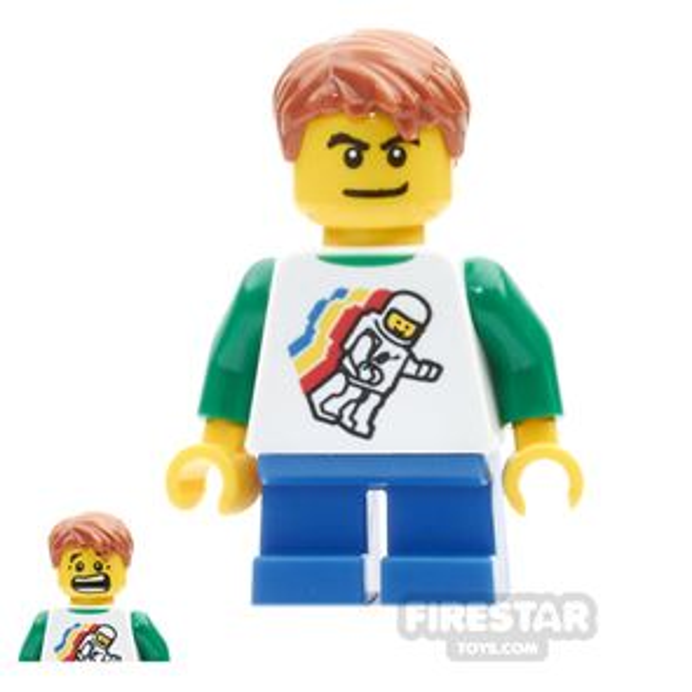 LEGO City Minifigure Space Top