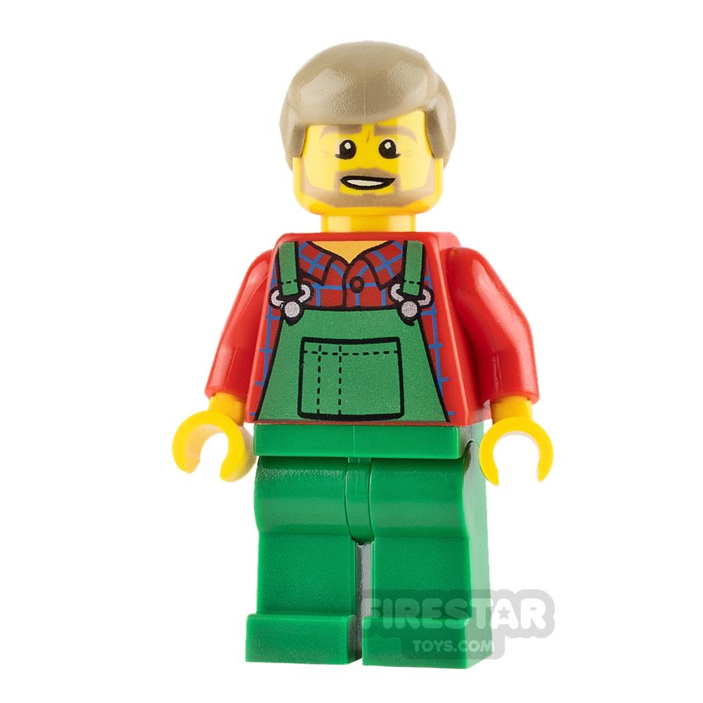 LEGO City Minifigure Farmer