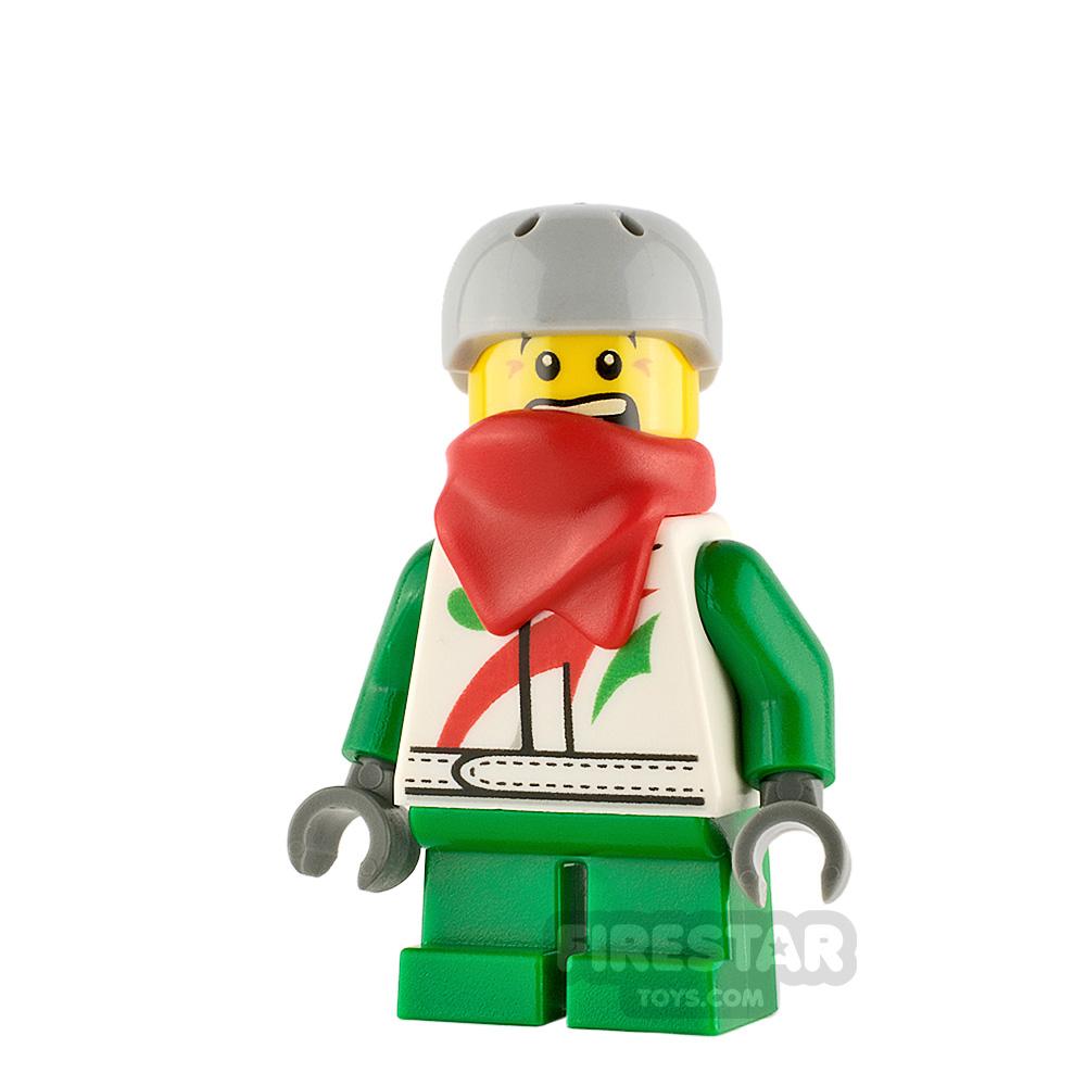 LEGO City Minifigure Boy with Octan Jacket