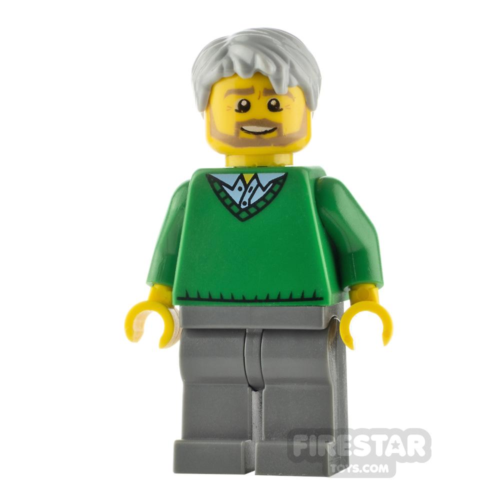 LEGO City Minifigure Thanksgiving Dad