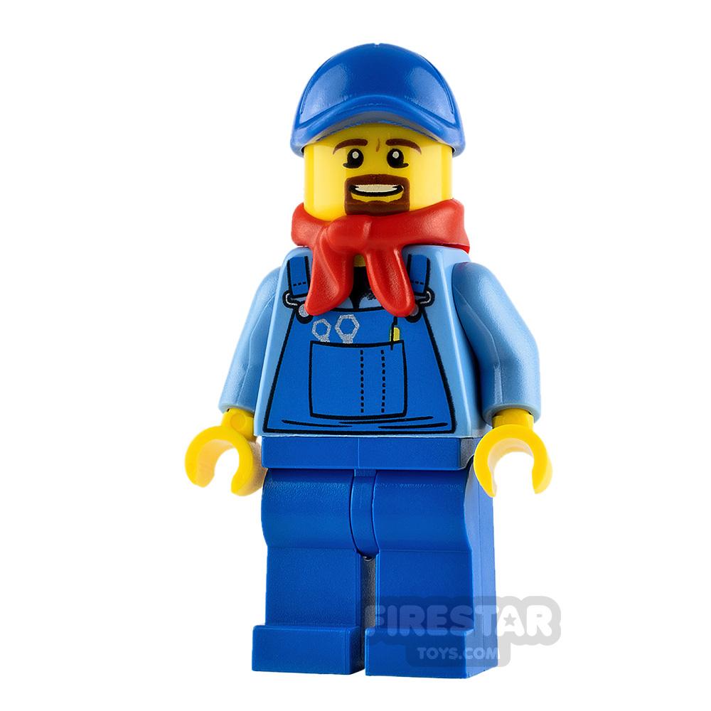 LEGO City Minifigure Locomotive Train Driver