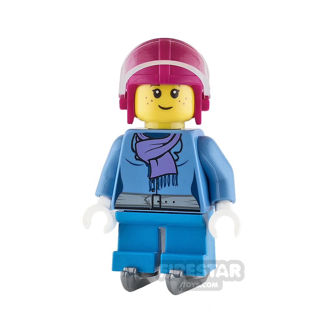 LEGO City Mini Figure - Ice Hockey Player - Girl
