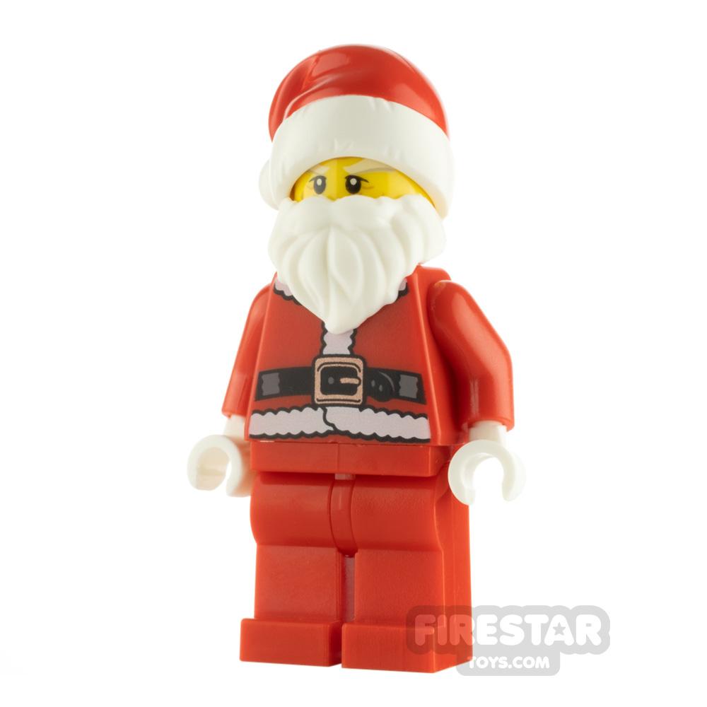 LEGO Holiday Minifigure Santa White Eyebrows