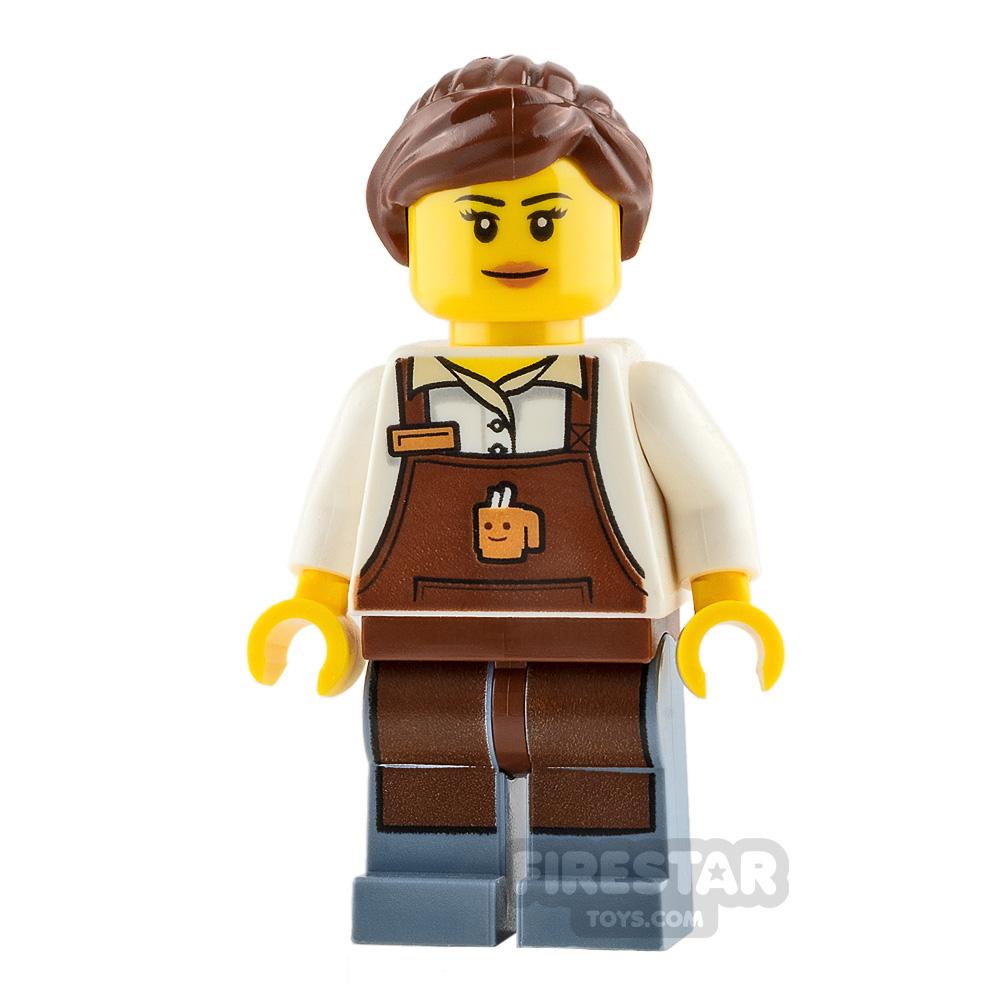 LEGO City Minifigure Female Barista