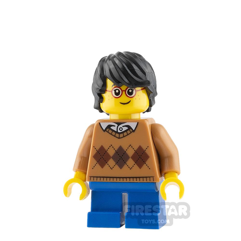 LEGO City Minifigure Argyle Sweater
